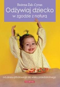 Odżywiaj dziecko zgodnie znaturą książka poradnik