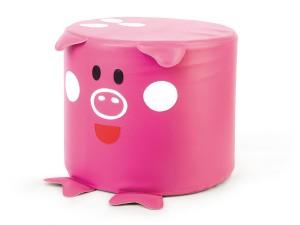 Pufa Świnka wyposażenie siedzisko dla dziecka