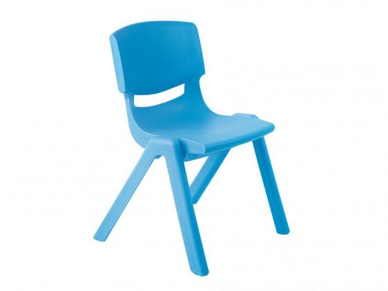 Krzesło przedszkolne niebieskie Motylek 2