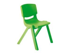 Krzesło przedszkolne zielone Motylek 2