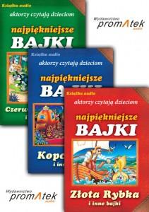 Aktorzy czytają dzieciom - ZESTAW I audiobook bajki