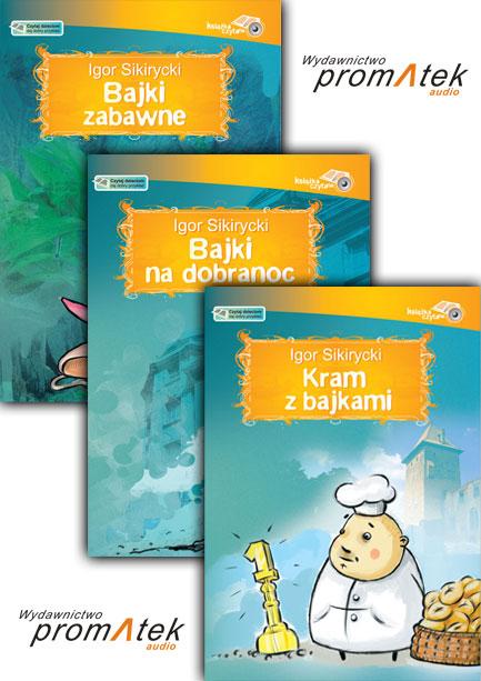 Bajki Igora Sikiryckiego pakiet audiobook