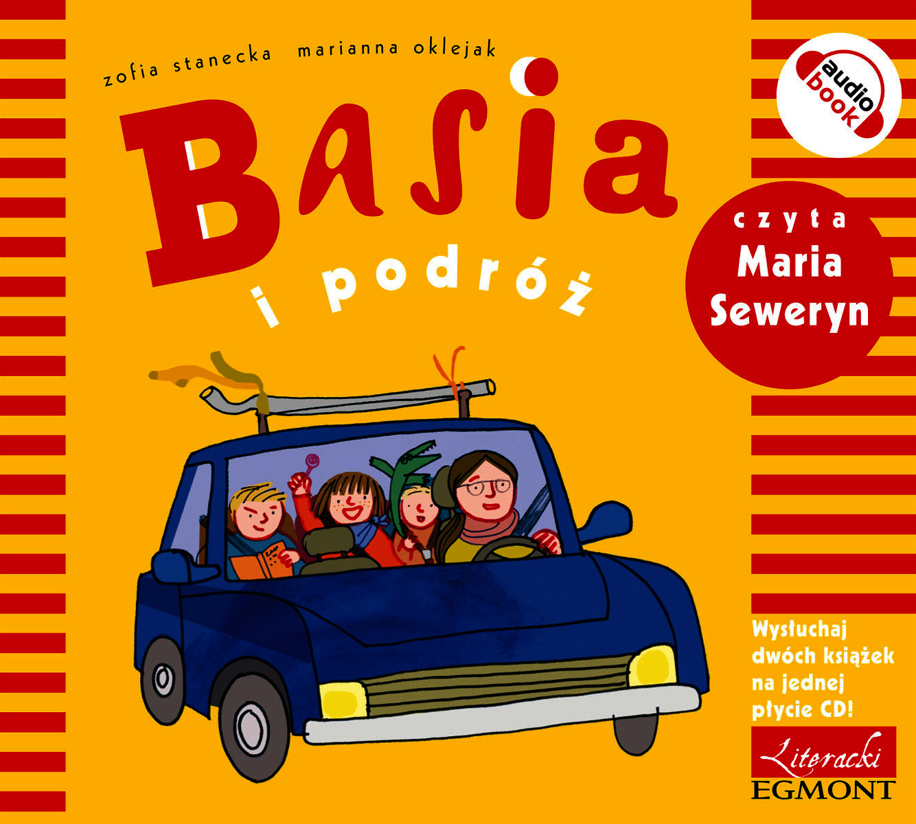 Basia i podróż audiobook