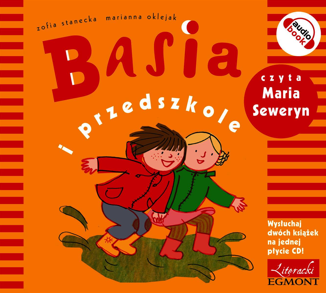 Basia i przedszkole audiobook