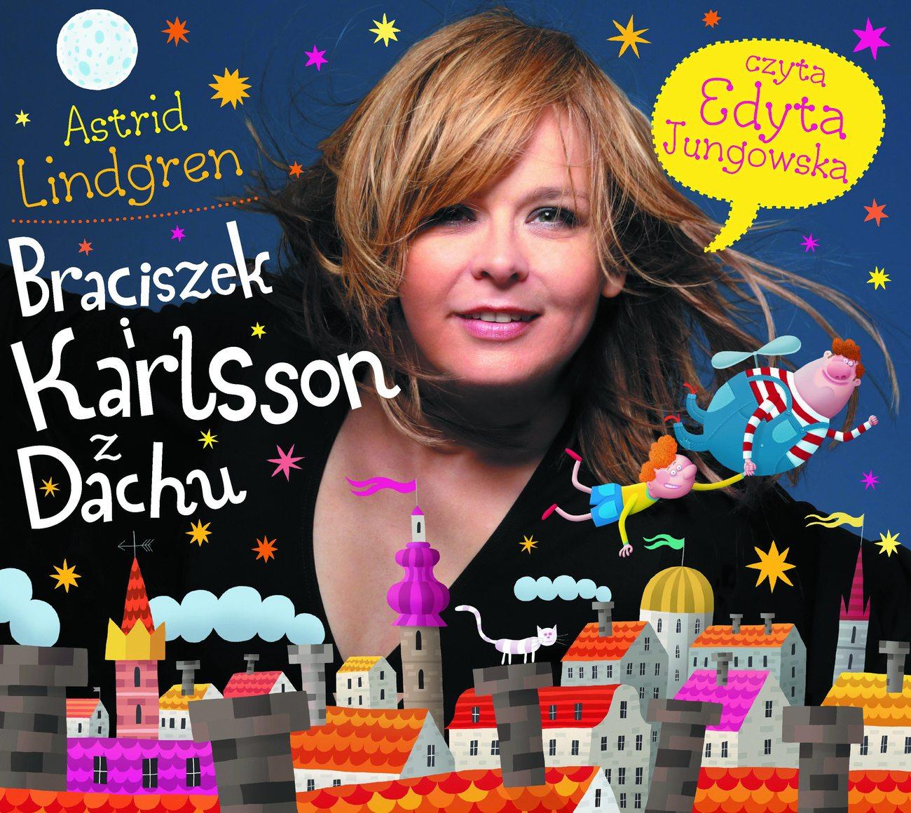Braciszek i Karlsson z Dachu audiobook