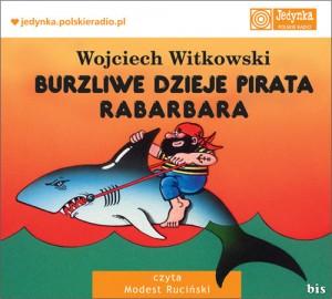 Burzliwe dzieje pirata Rabarbara audiobook