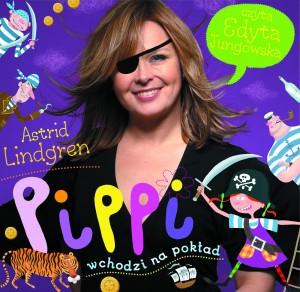 Pippi wchodzi na pokład audiobook bajka