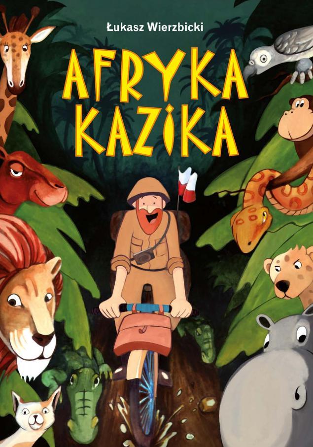 Afryka Kazika ebook bajka