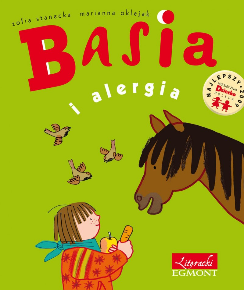 Basia i alergia ebook bajka