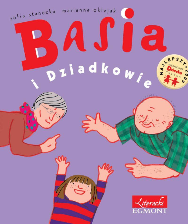 Basia i dziadkowie e-book bajka