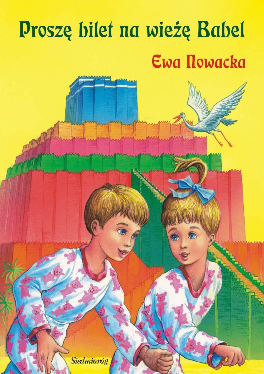 Proszę bilet na wieżę Babel e-book bajka