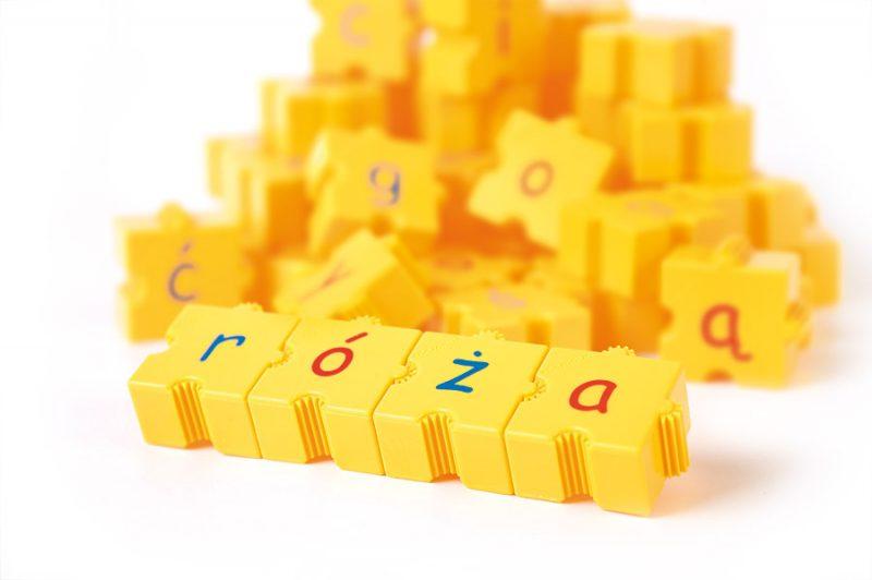 Klocki Morphun polskie litery - małe