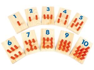 Liczydło matematyczne. Cyfry kołeczki 1-10