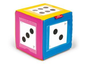 Kostka sześcian z kieszonkami + Karty pracy inteligencja emocjonalna dziecka